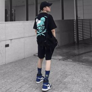 áo thun bad habits xương xanh