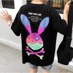 áo thỏ xương đen
