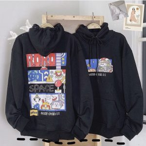 hoodie roro đen