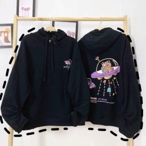 hoodie gấu