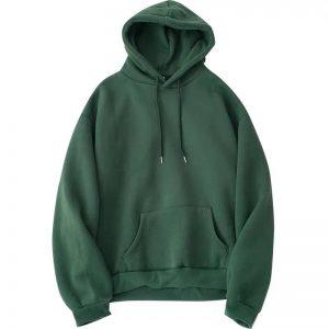 hoodie xanh rêu