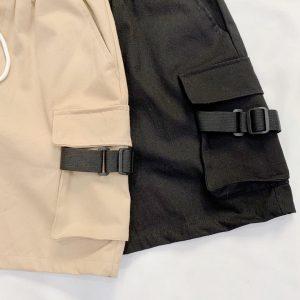 quần short kaki túi hộp