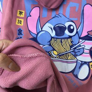 hoodie hồng