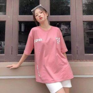 áo thun hades play hồng
