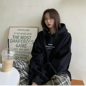 hoodie mobi đen