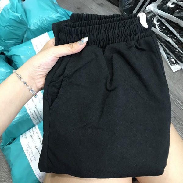 quần thun ống rộng