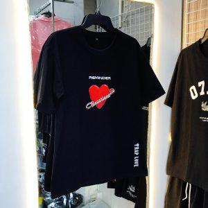 áo thun trái tim