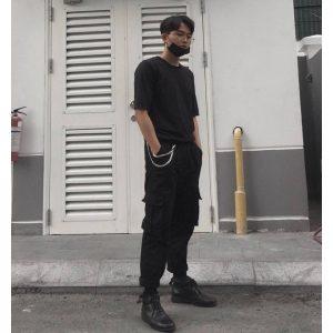 quần kaki boxpant
