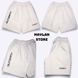 quần short kaki nam outerity