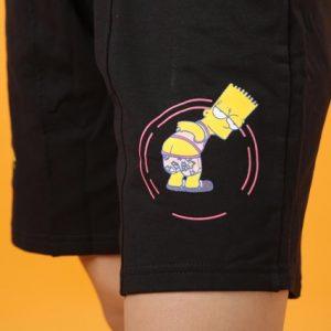 quần short thun nam simspon